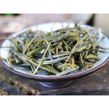 Чай Желтый Серебряные иглы с горы Бессмертных (Цзюнь Шань Инь Чжень), урожай 2018