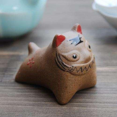Чайная фигурка 'Кот'