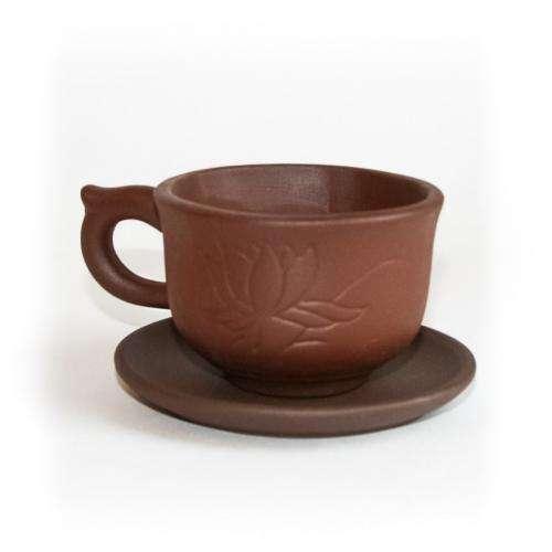 Чашка с блюдцем «Водяная лилия» (80 мл)