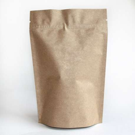 Крафтовые пакеты с зиплоком