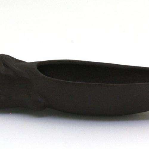 Глиняная лопатка для чая