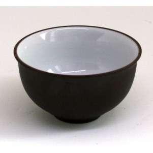 Пиала эмалированная из исинской глины, 80 мл (тёмная)