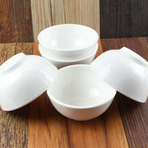 Пиала керамика белая