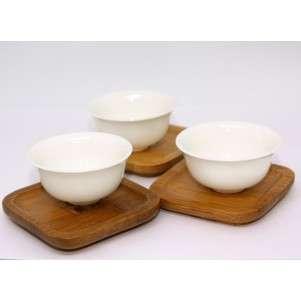Пиала керамическая белая«Нежность» 30 мл
