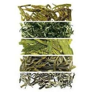 Набор №1.1: Свежий и ароматный зеленый и белый чай урожая 2017