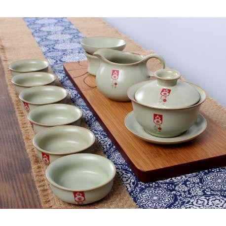 Набор посуды для китайской чайной церемонии Жу Яо