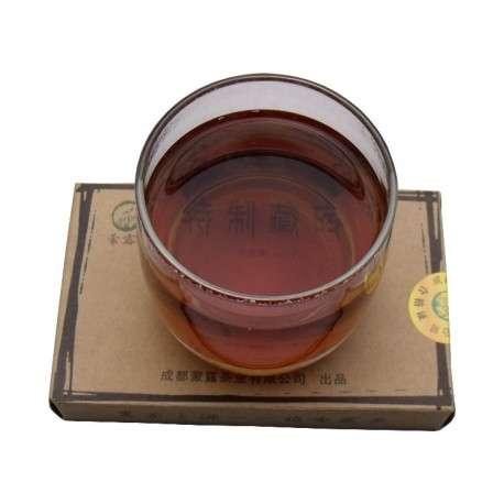 Тибетский плиточный черный чай, 2013г.