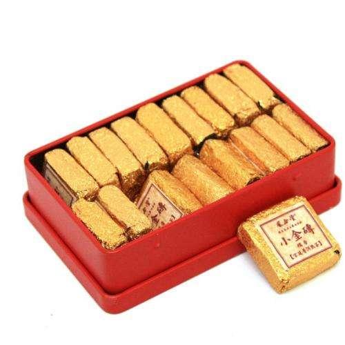 Золотой квадратик с рисом