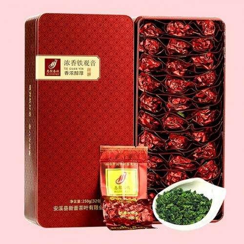 Те Гуань Инь (Железная Богиня Милосердия) №600, 250грамм в жестяной упаковке
