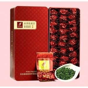 Те Гуань Инь (Железная Богиня Милосердия) №600, 250гр. в жестяной упаковке