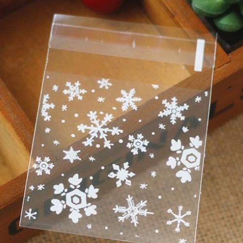 Пакетик со снежинками