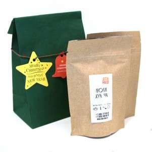 Чай в рождественском пакетике