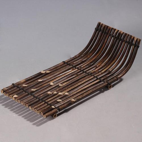 Чайная циновка из бамбуковых прутьев