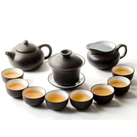 Набор посуды для чайной черемонии, исинская глина