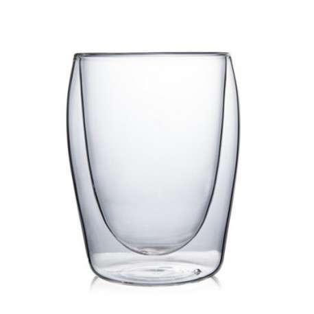 Стеклянные стакан с двойными стенками (2шт.), 230мл.