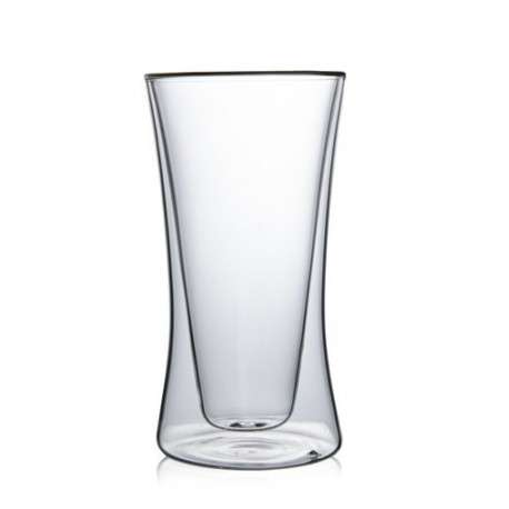 Cтеклянный стакан с двойными стенками, 260мл.