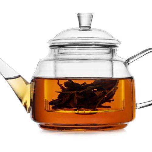 Cтеклянный чайник для заваривания чая, 500 мл.