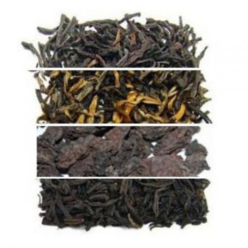 Набор №4: Черный китайский чай + пуэр
