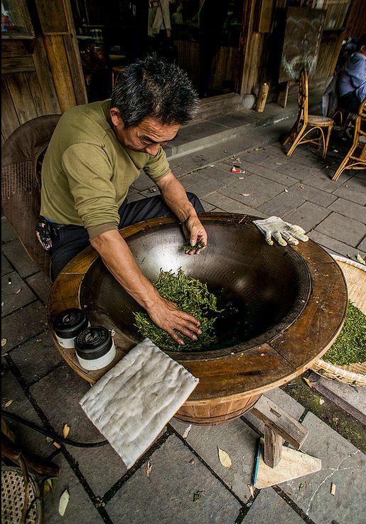 традиционно произведенный чай