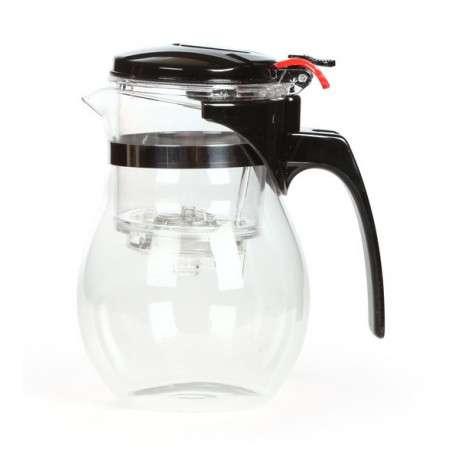 Чайник Гунфу с кнопкой (типот), 600 мл