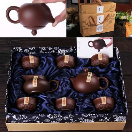 Набор для чайной церемонии из исинской глины