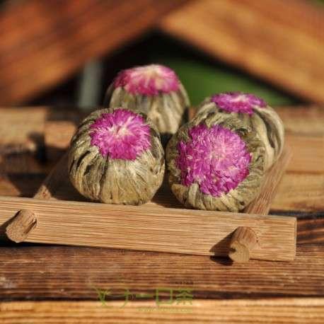 Связанный чай Юй Лун Тао (нефритовый персик дракона) - шарики по 10 гр.