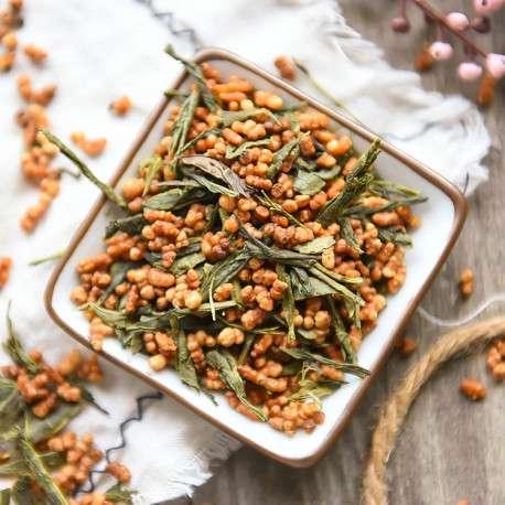 Чай Генмайча. Зеленый рисовый чай, сбор 2019