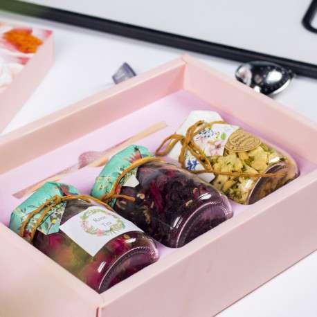 Подарочный набор китайского цветочного чая