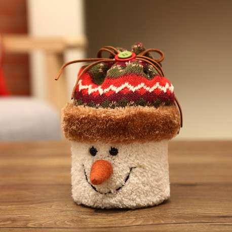 Снеговик, хранитель подарков