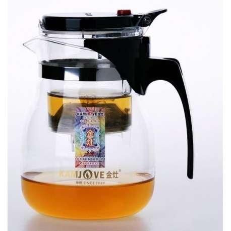 Заварочный чайник Гунфу с кнопкой, 750 мл