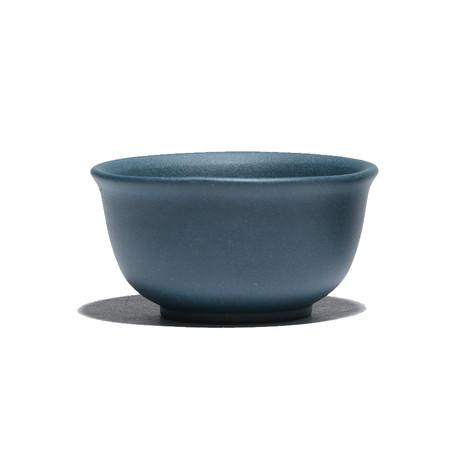 Пиала глиняная синяя, 40 мл.