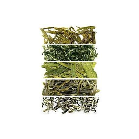 Набор №1: зеленый и белый чай