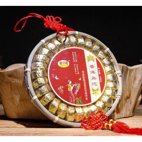 Шу пуэр их Юннаня в подарочной упаковке, 200 гр.