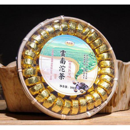 Шу пуэр их Юннаня в подарочной упаковке, 300 гр.