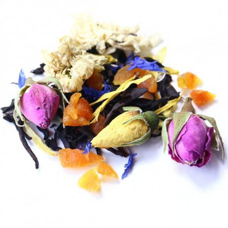 Черный чай с фруктовыми и цветочными добавками
