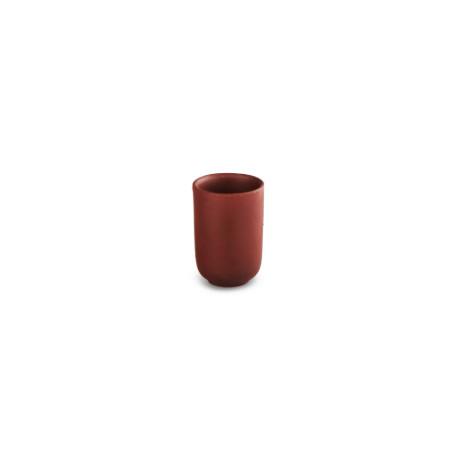 Глиняный стаканчик красный, 20 мл.