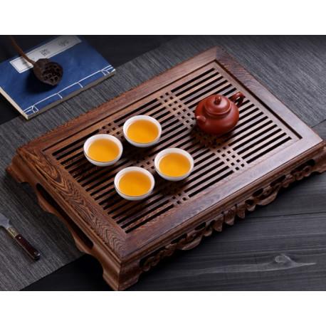 Чайная доска с выдвижным поддоном, венге
