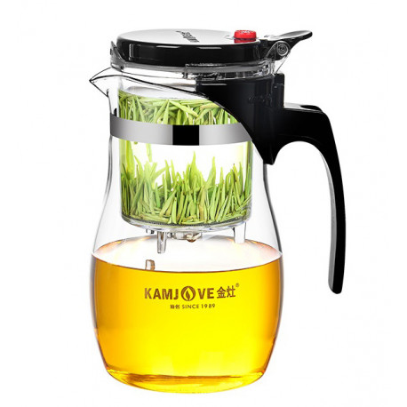 Чайник с кнопкой 600 мл., Kamjove TP-767