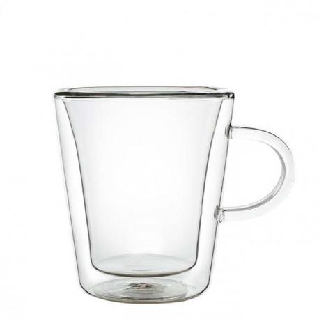 Кружка с двойным стеклом, 180 мл.