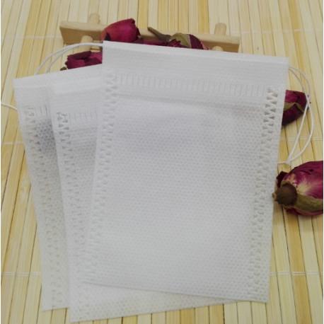 Фильтр-пакеты для заваривания чая (10 шт.), 5.5 на 7 см.