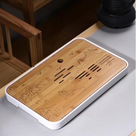 Чабань (керамика и бамбук)