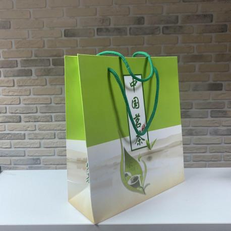 Пакет подарочный, 22*25*8,5