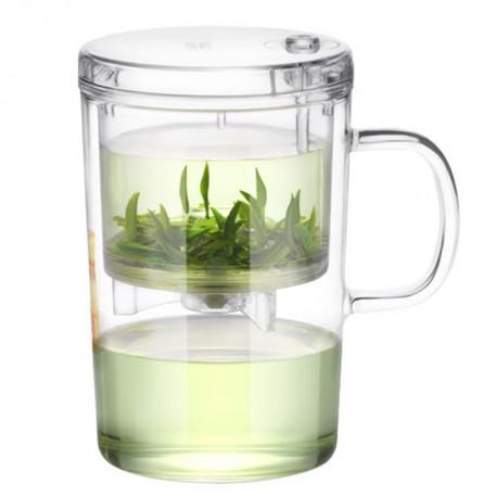 Kружка для заваривания чая, Lightking 420 мл.