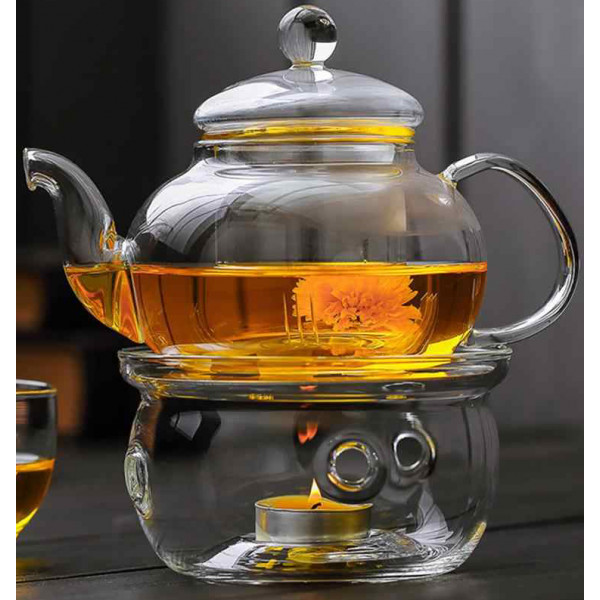 чайники для чай с подогревом