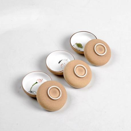 Пиалы керамические ручной работы. Из серии