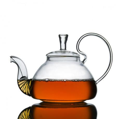 Стеклянный заварочный чайник 800 мл.