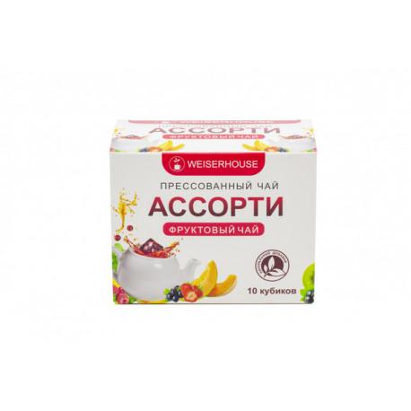 Чайное ассорти (фруктовый чай) кубики 5-7гр,
