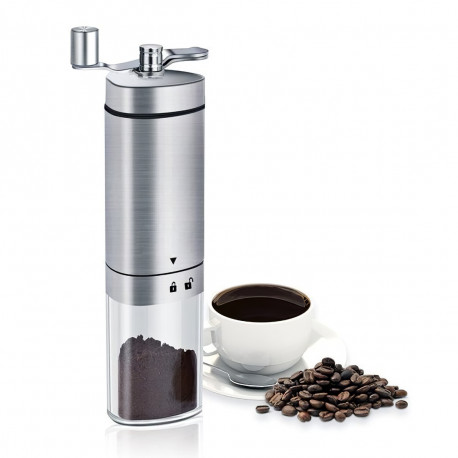Кофемолка ручная (с емкостью для молотого кофе)
