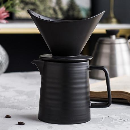 Пуровер (кофеварка) для приготовления кофе, керамика