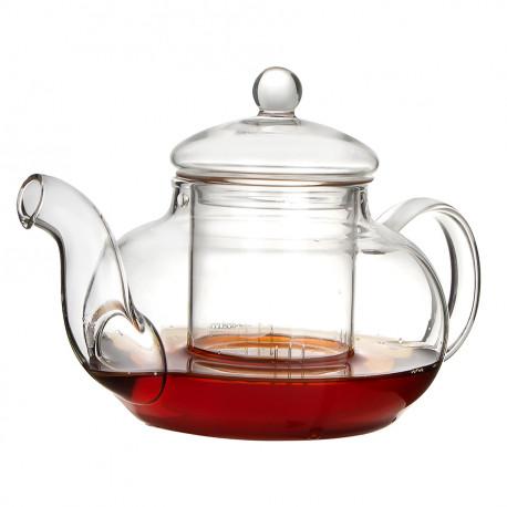 Стеклянный заварочный чайник с колбой 600 мл., CH-1015